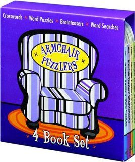 Armchair Puzzlers 4 Book Set University Games 9781575289694 Books