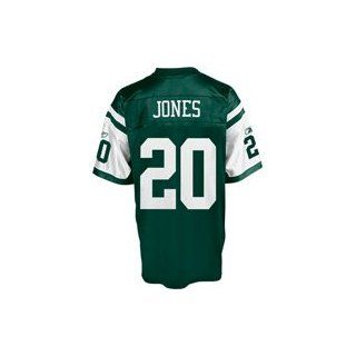 New York Jets Thomas Jones #20 NFL Replica Jersey by Reebok (Adult X Large)  Athletic Jerseys  Clothing