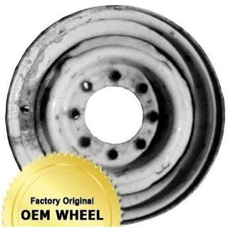 DODGE VAN 16X6 8 HOLE Factory Oem Wheel Rim  STEEL WHITE   Remanufactured Automotive