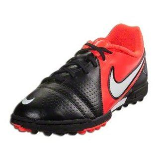 Nike Jr CTR360 Trequartista III TF   (Black/Red/White) (4 Youth) Indoor Soccer Shoes Shoes