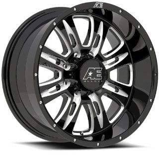 "Eagle Alloys  016 Wheel with Canyon Black Finish (17x10""/6x5.5"") Automotive"