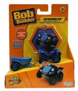 Bob the Builder Take Along Magnetic Vehicle   Scrambler Toys & Games