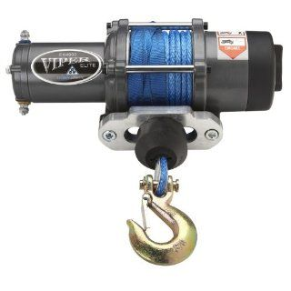 Viper Elite 4000lb ATV Winch & Custom Mount for CanAm Renegade Models with BLUE AmSteel� Blue synthetic rope Automotive