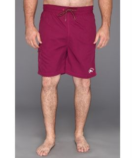 Tommy Bahama Big & Tall Big Tall Happy Go Cargo Swim Trunks Mens Swimwear (Purple)