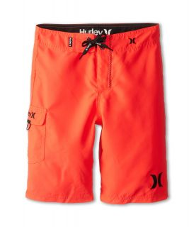 Hurley Kids One Only Boardshort Boys Swimwear (Red)