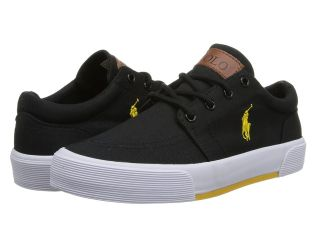 Polo Ralph Lauren Kids Faxon II Boys Shoes (Black)