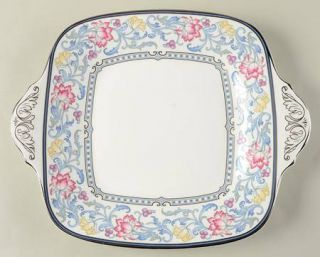 Royal Doulton Canterbury Square Handled Cake Plate, Fine China Dinnerware   Yell