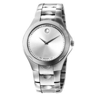 "Movado Men's 606379 ""Luno Sport"" Stainless Steel Bracelet Watch at  Men's Watch store."
