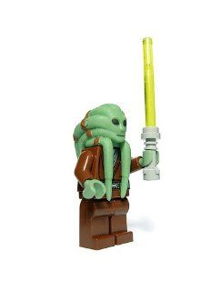 Lego Star Wars Mini Figure   Jedi Kit Fisto with Lightsaber (Approximately 45 Toys & Games