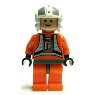 Lego Star Wars Mini Figure   Wedge Antilles X Wing Pilot (Approximately 45mm / 1.8 Inches Tall) Toys & Games