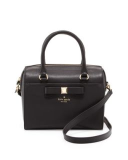 kate spade new york holly street ashton satchel bag, black