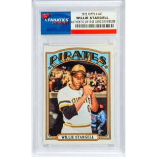 Willie Stargell Pittsburgh Pirates 1972 Topps #447 Card