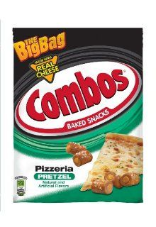 COMBOS Pizzeria Pretzel Big Bag, 13_Ounce (Pack of 10)  Grocery & Gourmet Food