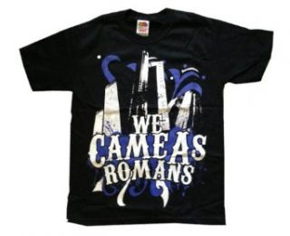 WE CAME AS ROMANS   City   Black T shirt Novelty T Shirts Clothing