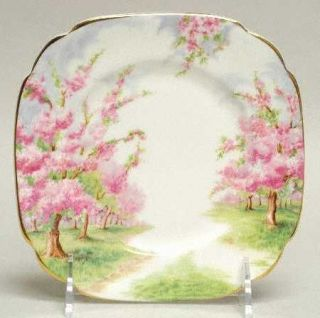 Royal Albert Blossom Time Bread & Butter Plate, Fine China Dinnerware   Hampton,