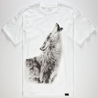 Howling Mens T Shirt White In Sizes Xx Large, Medium, Small, Large, X Larg