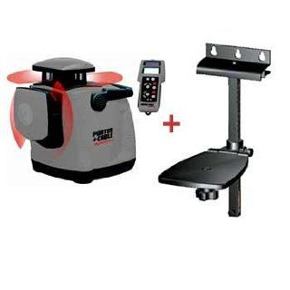 Porter Cable RoboToolz� RT 7690 2XPN High Powered, Interior & Exterior Lasers, Horizontal and Vertical Self Leveling w/ Remote Control & Wall Mount   Rotary Lasers