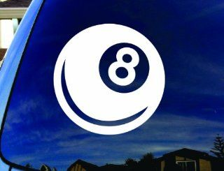 "Magic Eight Ball Car Truck Vinyl Decal 4"" Diameter"