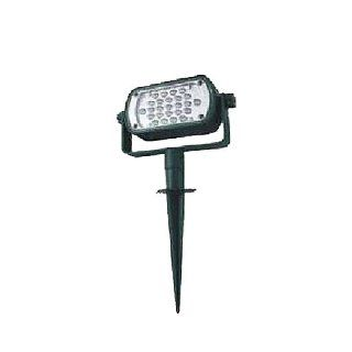 Lumisol Electrical ET 1001G200 25 Bright White LED Stake Light, 200 Lumens,  Green