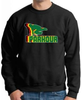 Parkour Rastafarian Effect Premium Crewneck Sweatshirt Clothing