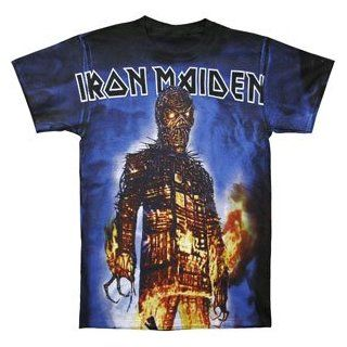 Rockabilia Iron Maiden Wicker Man AO T shirt Large Clothing