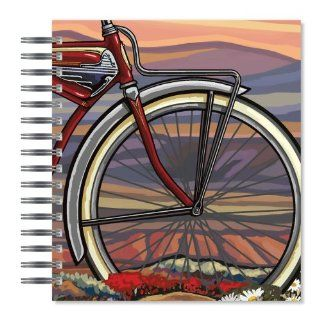 ECOeverywhere Big Wheel Picture Photo Album, 18 Pages, Holds 72 Photos, 7.75 x 8.75 Inches, Multicolored (PA11901)  Wirebound Notebooks