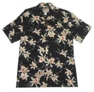 Paradise Found Star Orchid Hawaiian Shirt at  Men�s Clothing store Button Down Shirts