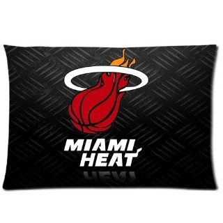 "DiyCaseStore NBA Miami Heat star LeBron James 6 EARNED NOT GIVEN Tshirts Pillow case Standard Size 20""x30""(two sides) Beauty"