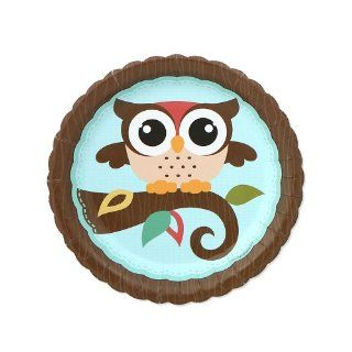 Owl   Look Whooo's Having A Baby   Baby Shower Dessert Plates   8 ct Toys & Games
