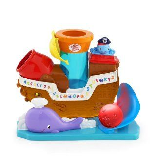 Bright Starts Having A Ball Toys, Pop and Rock Pirate Ship  Baby Touch And Feel Toys  Baby
