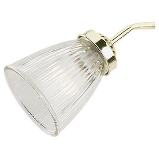 Sea Gull Lighting Ceiling Fan Glass Shade in Clear Ribbed White