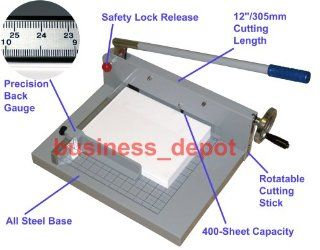 B 1200 Heavy Duty Commercial Guillotine Stack Paper Cutter  Stack Paper Trimmers