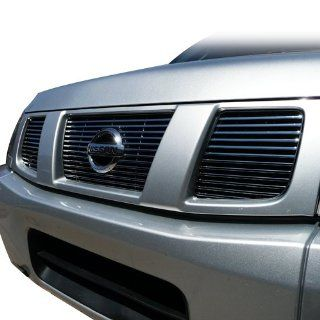 "2004 2007 Nissan Titan & Armada SE, LE Chrome Grille ""Billet Style Chrome Grille"" Automotive"