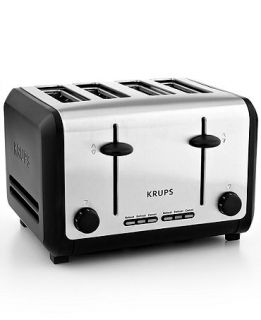 Krups KH744D50 Definitive Series Stainless Steel 4 Slice Toaster   Electrics   Kitchen