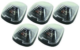 Pacer Performance 20 236C Hi Five Clear Ford Style Cab Roof LED Light Kit, (Pack of 5) Automotive