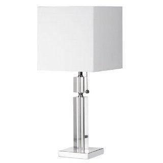 Dainolite DM231 PC Modern 1 Light Table Lamp, Polished Chrome