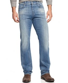 7 For All Mankind Standard Classic Straight Leg Jeans, Washed Out   Jeans   Men