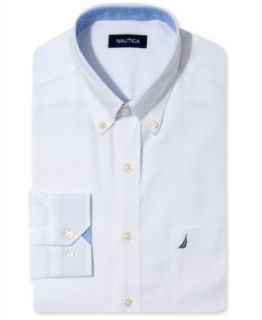 Nautica Light Blue Oxford Dress Shirt   Dress Shirts   Men