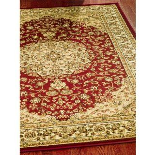 Safavieh Lyndhurst Collection LNH222B Red and Ivory Area Rug, 6 feet by 9 feet (6' x 9')