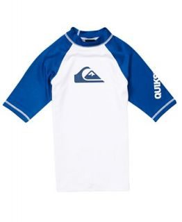 Quiksilver Boys Swimwear, Little Boys All Time Rashguard   Kids