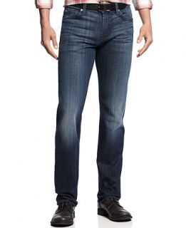 7 For All Mankind Slimmy Straight Leg Jeans, Ether Blue Wash   Jeans   Men