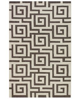 Dalyn Area Rug, Jive IF1 Maze Pewter 5 x 76   Rugs