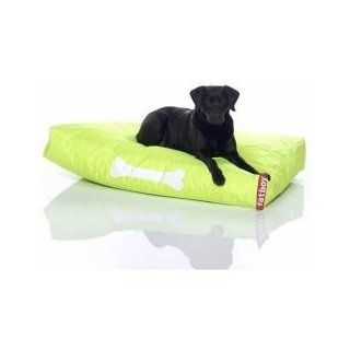 "Large Doggielounge   Cushion Style Dog Bed   Green (Lime Green) (7""H x 48""W x 32""D)  Pet Habitat Decor"