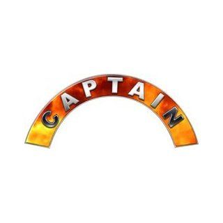 Captain Real Fire Firefighter Fire Helmet Arcs / Rocker Decals Reflective Automotive