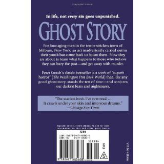 Ghost Story Peter Straub 9780671685638 Books