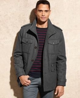Michael Michael Kors Big and Tall Jacket, Breckenridge Wool Blend Field Coat   Coats & Jackets   Men