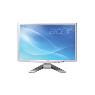 "Acer P223wwd 22"" Widescreen LCD Monitor   5ms, 1680x1050 (Wsxga+), 25001 Acm, Vga, DVI with Hdcp, Silver/white Computers & Accessories"