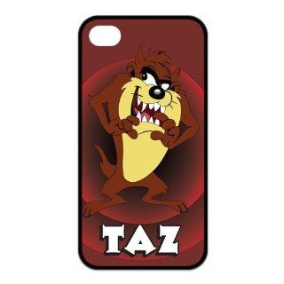 Mystic Zone Customized Taz iPhone 4 Case for iPhone 4/4S Hard Cover cool Cartoon Fits Case KEK0040 Cell Phones & Accessories
