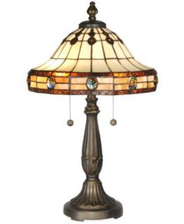 Dale Tiffany Table Lamp, Jeweled Mission   Lighting & Lamps   For The Home