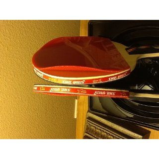 DHS Ping Pong Paddle A4006, Table Tennis Racket   Penhold  Professional Table Tennis Rackets  Sports & Outdoors